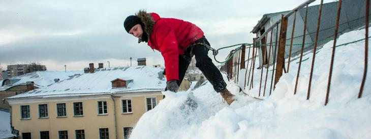 Уборка снега с крыш: Развитие